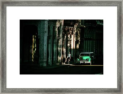 Our Way To Cuba Framed Print