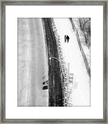 Our Way Framed Print by Valentino Visentini
