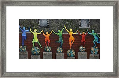 Our World Framed Print by Linda Carmel