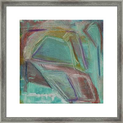 Out Behind The Easel 1 Framed Print