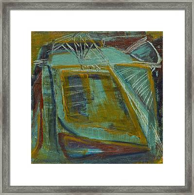 Out Behind The Easel 2 Framed Print