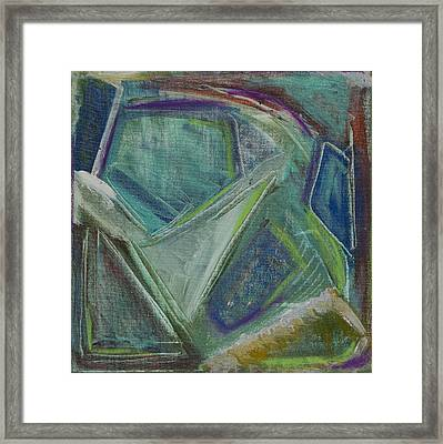 Out Behind The Easel 3 Framed Print