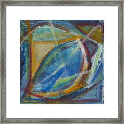 Out Behind The Easel 5 Framed Print