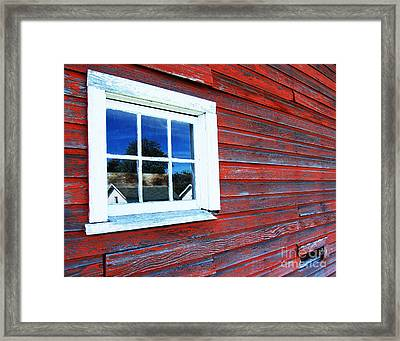 Out Buildings Framed Print by Jim Rossol