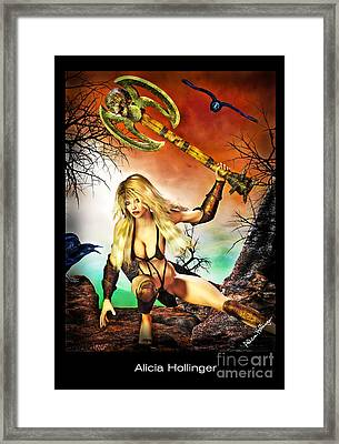 Out Clubbing Framed Print by Alicia Hollinger