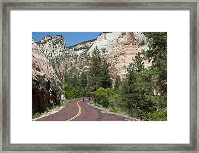 Out For A Ride Framed Print
