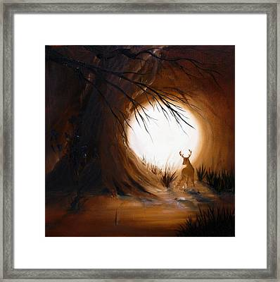 Out For The Hunt Framed Print by David Kacey