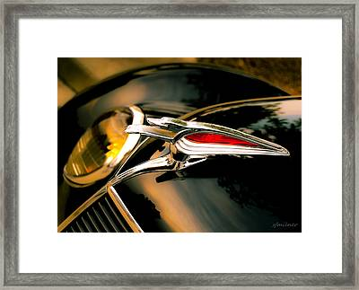 Out Front Framed Print by Steven Milner