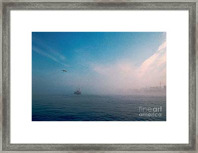 Out Morning At Sea  Framed Print