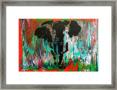 Out Of Africa Framed Print by Nan Bilden