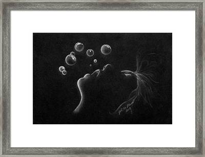 Out Of Air Framed Print by James McAdams