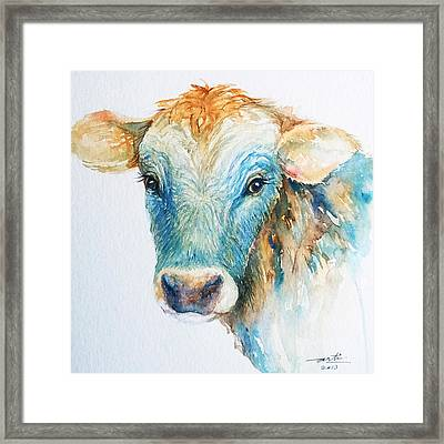 Out Of Blue Framed Print