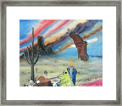 Out Of Business II Framed Print by Jody Poehl
