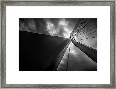 Out Of Chaos A New Order Framed Print by Mihai Andritoiu