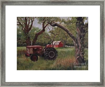 Out Of Commission Framed Print by Karen Olson