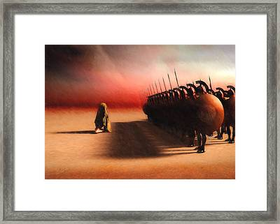 Out Of Egypt Framed Print by Bob Orsillo