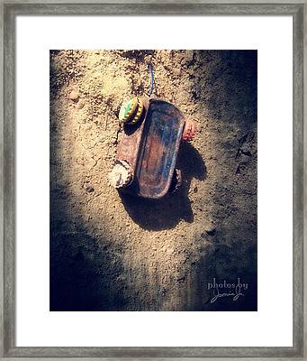 Out Of Gas And Other Resources Framed Print