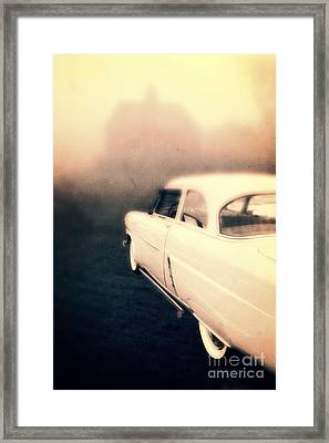 Out Of Gas Framed Print by Edward Fielding