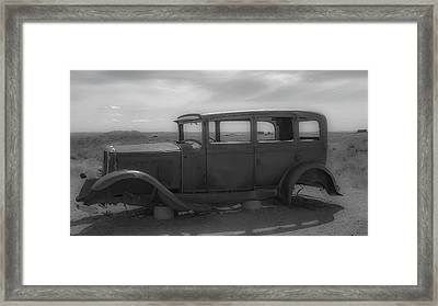 Out Of Gas Framed Print by Kathleen Scanlan