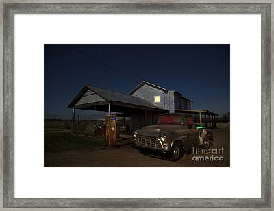 Out Of Gas Framed Print by Keith Kapple