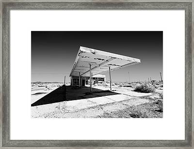 Out Of Gas Framed Print by Peter Tellone