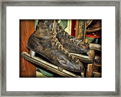 Out Of Ice Framed Print by Fran Riley