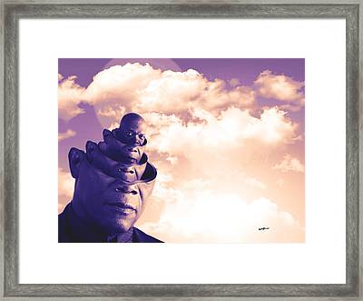 Out Of My Head Framed Print by Anthony Caruso