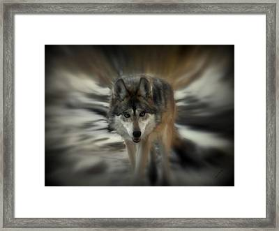 Out Of Nowhere 2 Framed Print by Ernie Echols