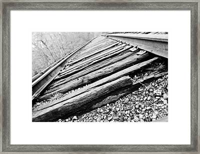 Out Of Order Framed Print by Jessica Brown