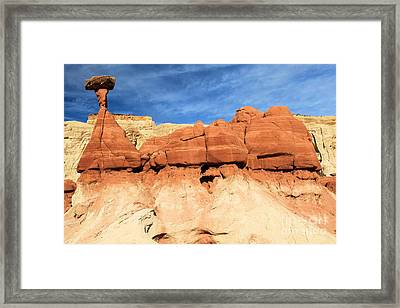 Out Of Place Framed Print by Adam Jewell
