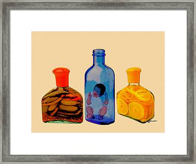 Out Of Place Framed Print by Anthony Caruso