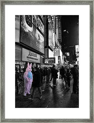 Out Of Place Framed Print by Lee Dos Santos
