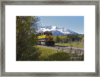 Out Of Place Framed Print by Rick  Monyahan