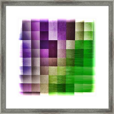 Out Of Square...four Framed Print