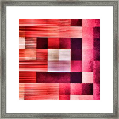 Out Of Square...three Framed Print by Tom Druin