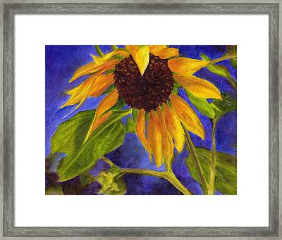 Out Of The Blue Framed Print by Marina Petro