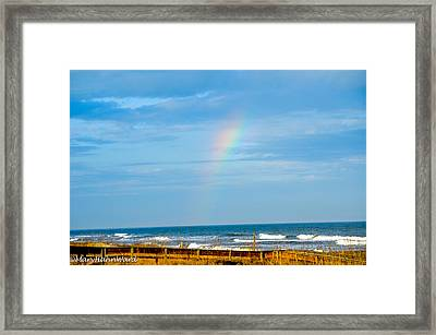 Out Of The Blue  Framed Print