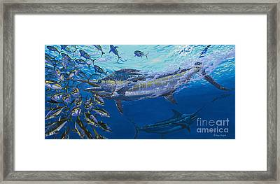 Out Of The Blue Off009 Framed Print