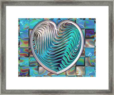 Out Of The Blue Framed Print by Wendy J St Christopher