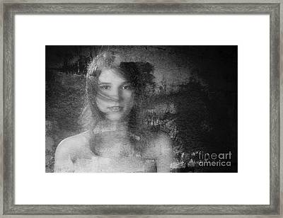Out Of The Dark 3 Framed Print by Kendree Miller