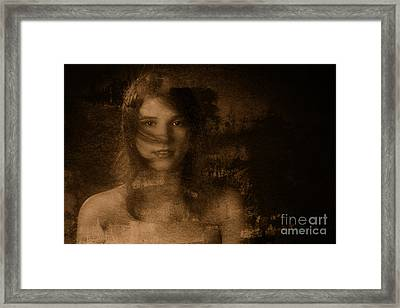 Out Of The Dark 4 Framed Print by Kendree Miller