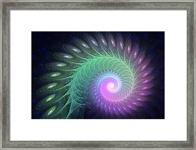 Out Of The Deep Framed Print