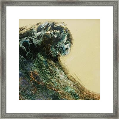 Out Of The Depths Sold Framed Print by Lia Melia