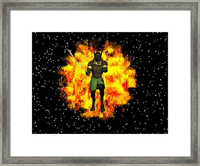 Out Of The Flames Framed Print