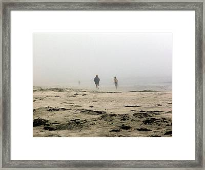 Out Of The Fog Framed Print by George Cousins