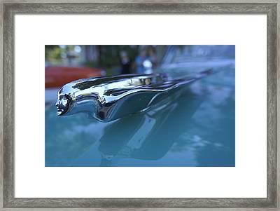 Framed Print featuring the photograph Out Of The Metal by Laurie Perry