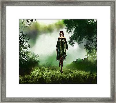 Out Of The Mist Framed Print by Tyler Robbins