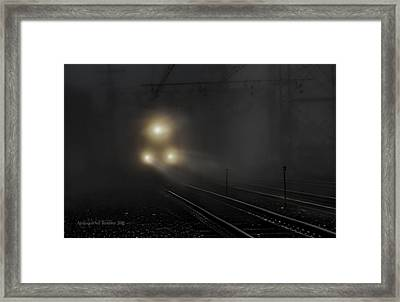 Out Of The Night #1 Framed Print by Aleksander Rotner
