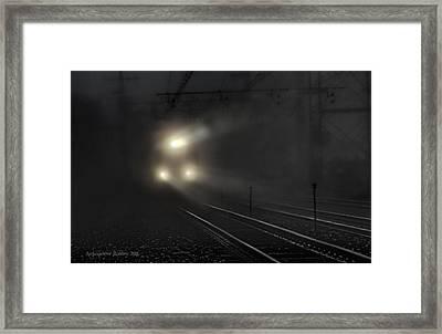 Out Of The Night #2 Framed Print by Aleksander Rotner