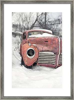 Out Of The Past Framed Print by Edward Fielding